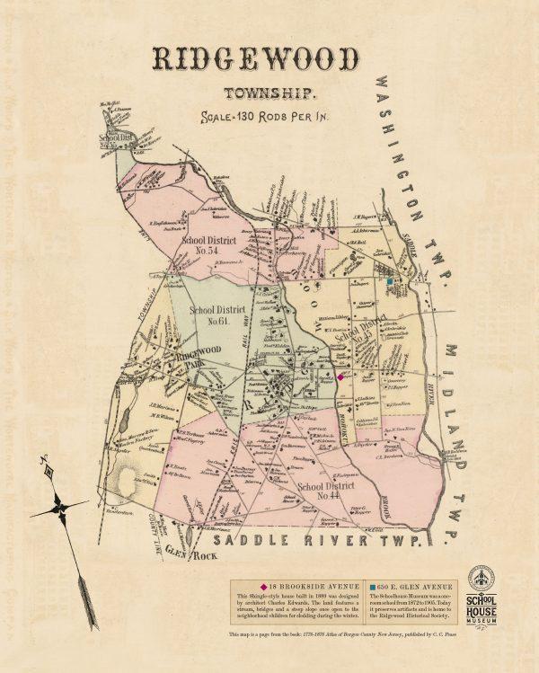Ridgewood Hitoric MapSAMPLE