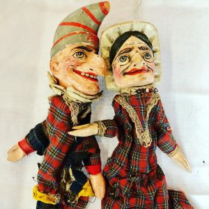 Punch & Judy Marionettes